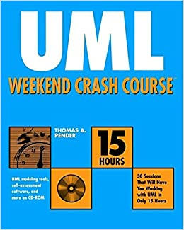Book UML Weekend Crash Course [With CDROM]