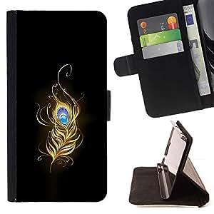 - Flaming Phoenix Feather/ Personalizada del estilo del dise???¡¯???¡Ào de la PU Caso de encargo del cuero del tir???¡¯????n del s - Cao - For HTC One M8