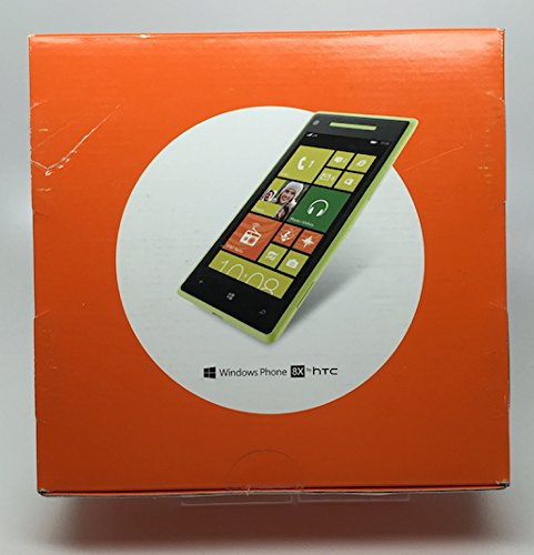 HTC 8X 8GB Unlocked GSM 4G LTE Dual-Core Windows 8 Smartphone - Lime Yellow - AT&T - No Warranty (Windows Htc Phone 8)