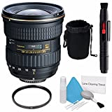 Tokina 12-28mm f/4.0 AT-X Pro APS-C Lens for Canon (International Model) No Warranty+Deluxe Cleaning Kit + Lens Cleaning Pen + 77mm UV Filter + Deluxe Lens Pouch Bundle 7