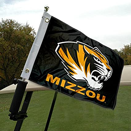 Amazon.com: Mizzou Carrito de golf y barco bandera: Sports ...