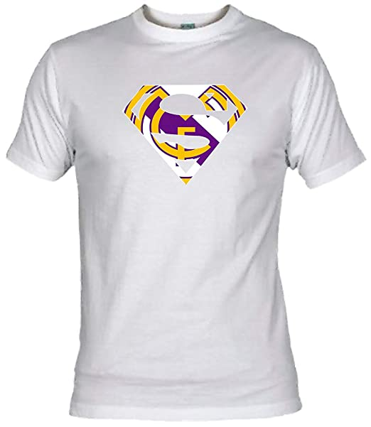 Camiseta Supermán Madridista Adulto/niño Camisetas Real Madrid Merengues: Amazon.es: Ropa y accesorios