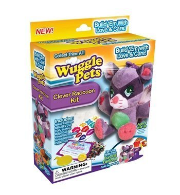 Wuggle Pets As Seen On TV Clever Raccoon Kit