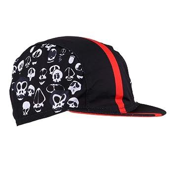 MagiDeal Sombreros Gorras de Ciclismo Transpirable Anti Sudor a Prueba de  Sol al Aire Libre Equitación a0632362055