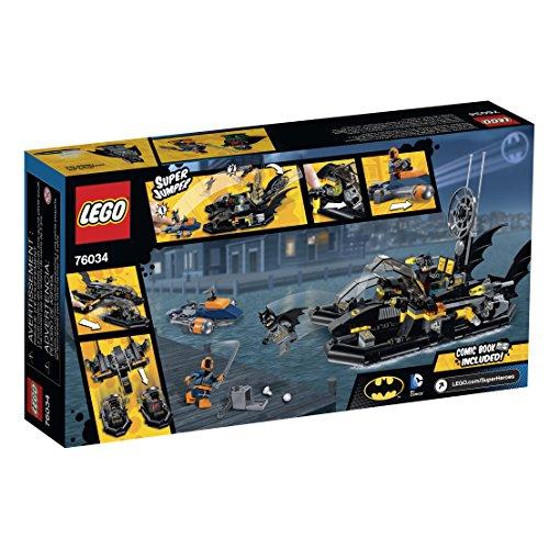 Lego Super Heroes  The Batboat Harbor Pursuit Building Kit