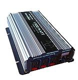 WindyNation PIN-1500-12P- Vertamax 1500 Watt (3000W Surge) Pure Sine Wave 12V Power Inverter