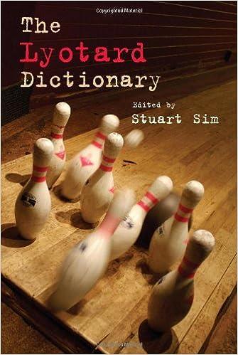 The Lyotard Dictionary