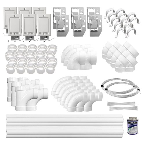 Central Vac Electric Installation Kit (6)