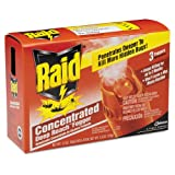 Raid Concentrated Deep Reach Fogger, 1.5 oz Aerosol Can, 3/Pack - 12 packs of three foggers each.
