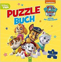PAW Patrol - Puzzlebuch: Mit 4 Puzzles á 12 Teilen