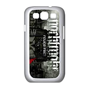 Samsung Galaxy S3 9300 Cell Phone Case Covers White Nachtmahr band UD1387944