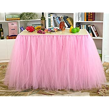 Amazon Com Stuffwholesale Tutu Table Skirt Baby Shower