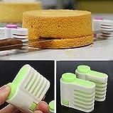 5 layer wok - 2pcs/set 5 Layers Adjustable DIY Cake Slicer Bread Leveller Cutter Fixator Guide Cake Cutter Leveler Slicer Cutting Fixator