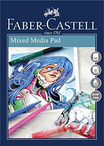 11 opinioni per Faber-Castell Blocco per tecnica mista A4 Grey