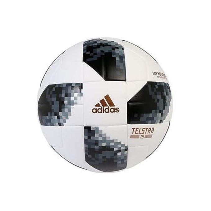 adidas BALL FIFA WORLD CUP TOP REPLIQUE White/Black/Silver ...