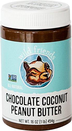 Wild Friends Foods Chocolate Coconut Peanut Butter, 16 oz Jar