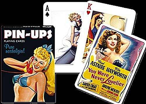 Piatnik - 1429.0 collection On Pin Ups - deck Of 54 cards by Piatnik