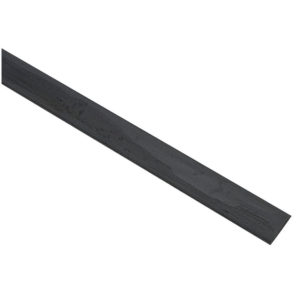 National Hardware N215-574 4062BC Solid Flat in Plain Steel, 1-1/4'' x 48''