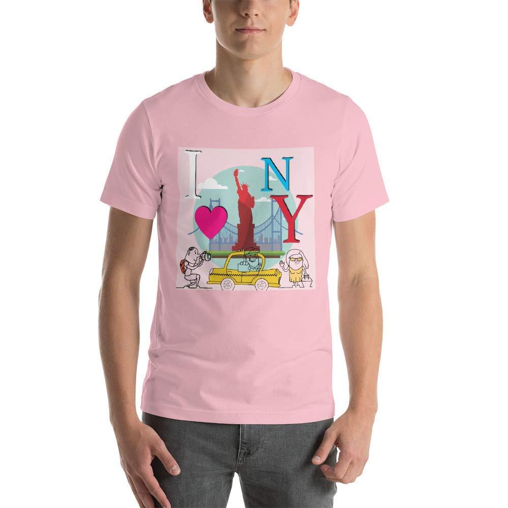 Grafititee I Love New York Style Short-Sleeve Unisex T-Shirt