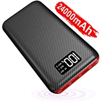 Power Bank Portable Charger- 24000mAh High Capacity with...