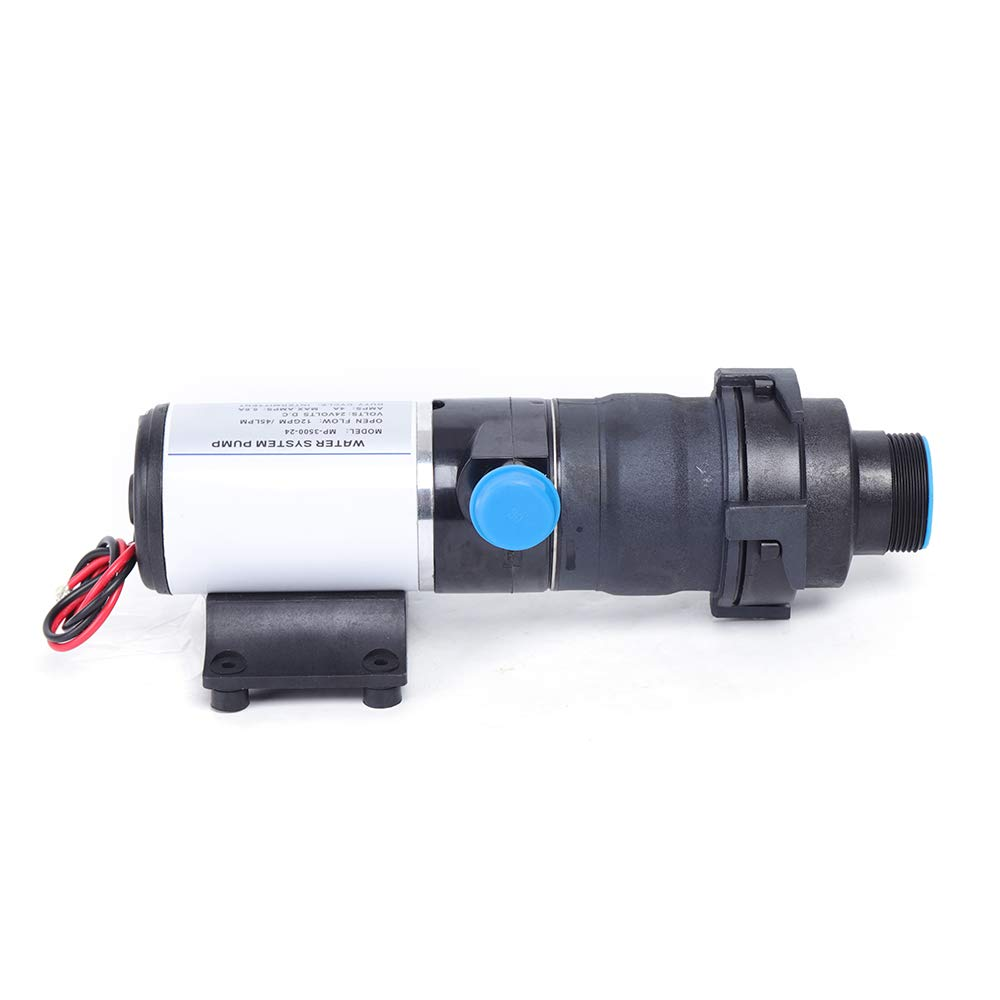 12V/24V Quick Release RV Yacht Sewage Pump Mount Macerator Waste Water Pump 45 LPM 12GPM RV Marine Muted USA STOCK (24V for houseboat) by BOYU-SHITAI