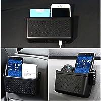 Zhuotop, étui de rangement universel pour voiture, boîte de rangement pour téléphone, outil, organiseur pour voiture