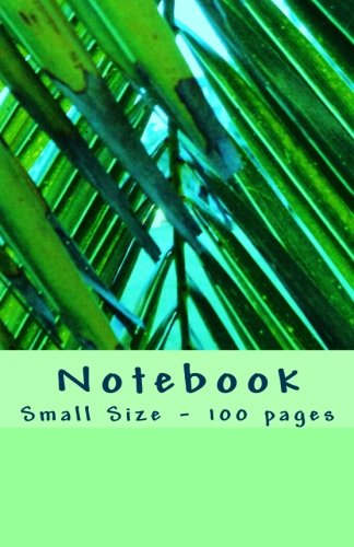 Notebook - Small Size - 100 pages: Original Design Nature 16 pdf