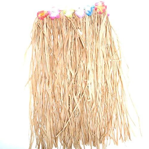 Raffia Grass Skirt (Fun Express Adult Raffia Flowered Grass Skirt)