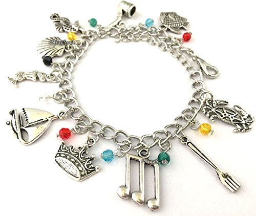BlingSoul Little Mermaid Charm Bracelet - Jewelry Merchandise