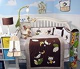 SoHo Baby Crib Bedding 10Pc Set, ChimpFun