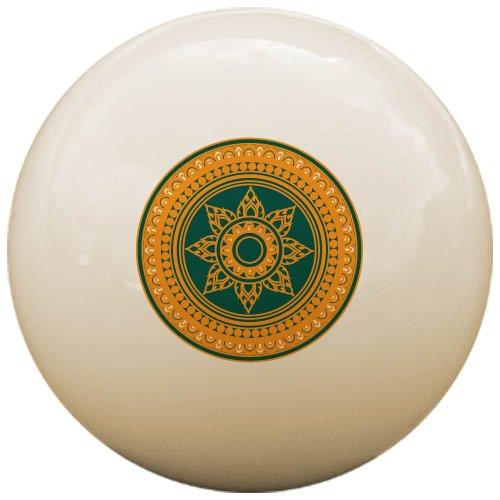 スターリングゲームTan Rangoli Cue Ball   B01KOQT5IM