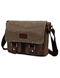 Magictodoor Vintage Canvas Shoulder Military Messenger Bag Sling School Bags Great Christmas/Birthday Gift Ag2101hui.ca