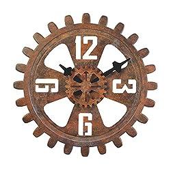 Bulova Motion Large Deco Wall Clock - C4373