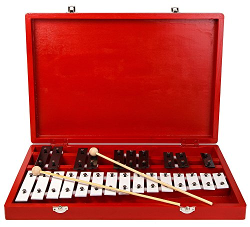 25-Note Xylophone Chromatic (Glockenspiel) in Wooden (Lp Aspire Cowbell)