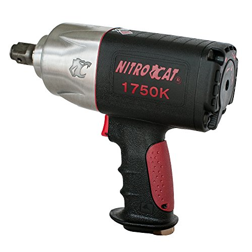 "AIRCAT 1750-K 3/4"" Drive Kevlar Impact Wrench, Medium, Si..."