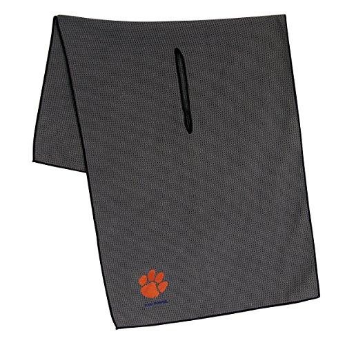 (Team Effort Clemson Tigers Grey Microfiber Towel)