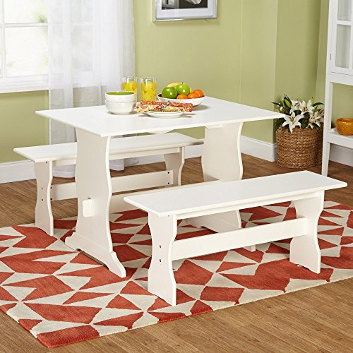 Target Marketing Systems Leah 3 Piece Dining Table Set