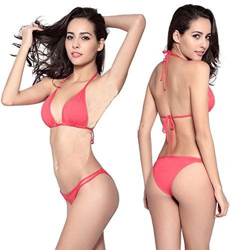 NIKA # Sexy Swimwear Bikinis New Women Swimsuit Plus (04, S)