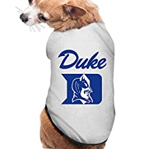 WG Vintage Duke University Blue Devils Pet Dog Tshirt Ash Size M