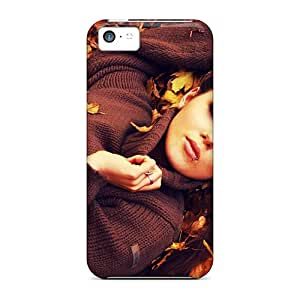 Brand New 5c Defender Cases For Iphone (autumn Leaves Photo Session)