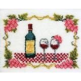 M C G Textiles Latch Hook Kit, 27-Inch by 20-Inch, Fine Wine