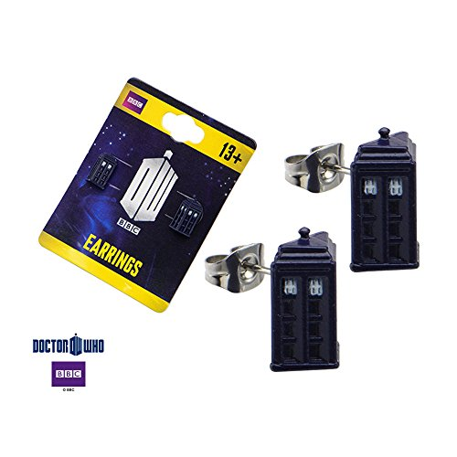 Doctor Who Tardis Stud Earrings product image