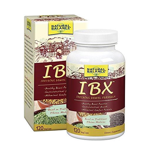 Natural Balance IBX Soothing Bowel Formula | Supports Digestive Health | 120 Veggie (Bowel Formula 120 Capsules)