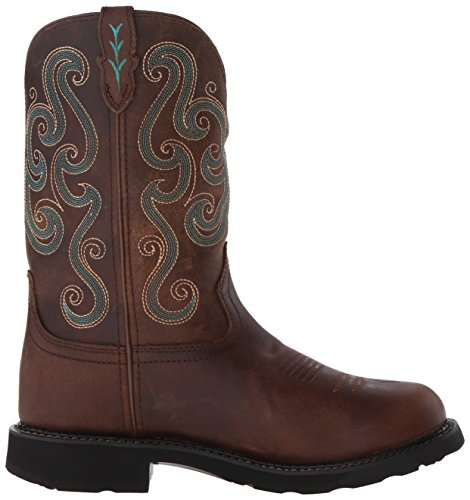 Justin Boots Gypsy Wkl9990 Werkschoenen Chocolade
