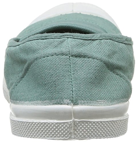 Bensimon Tennis F15002C155, Baskets mode femme Vert (Amande 601)