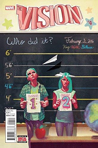 VISION #4 MARVEL COMICS (W) Tom King (A) Gabriel Hernandez Walta (CA) Mike Del Mundo