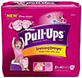 Health & Personal Care : Huggies Pull-Ups Learning Design Training Pants for Girls - Mega Pack
