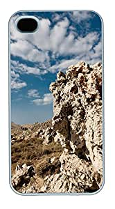 iPhone 4S CaseBig Rock In Lebanon PC Custom iPhone 4/4S Case Cover White