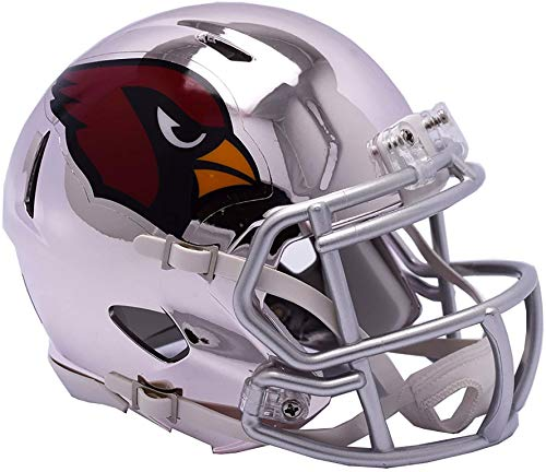 Riddell Arizona Cardinals Chrome Alternate Speed Mini Football Helmet - NFL Mini Helmets