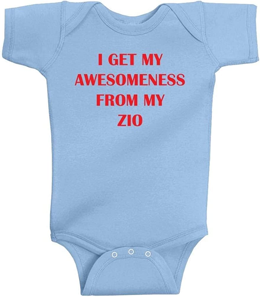 Unisex Baby Awesomeness From Mom T-Shirt Romper So Relative